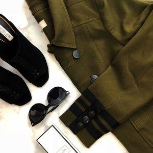 Olive Military Jacket